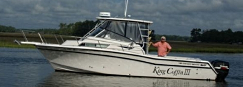 Oak Island Charter Fishing Boat King Coffin III