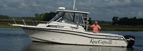 Oak Island Charter Fishing Boat King Coffin III