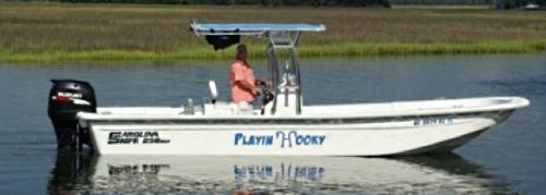 Oak Island Fidhing Charters Boat Playin Hooky